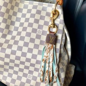 Louis Vuitton Fringe Cowhide Bag Charms